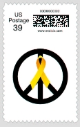 Bring Them Home Now Peace Stamp